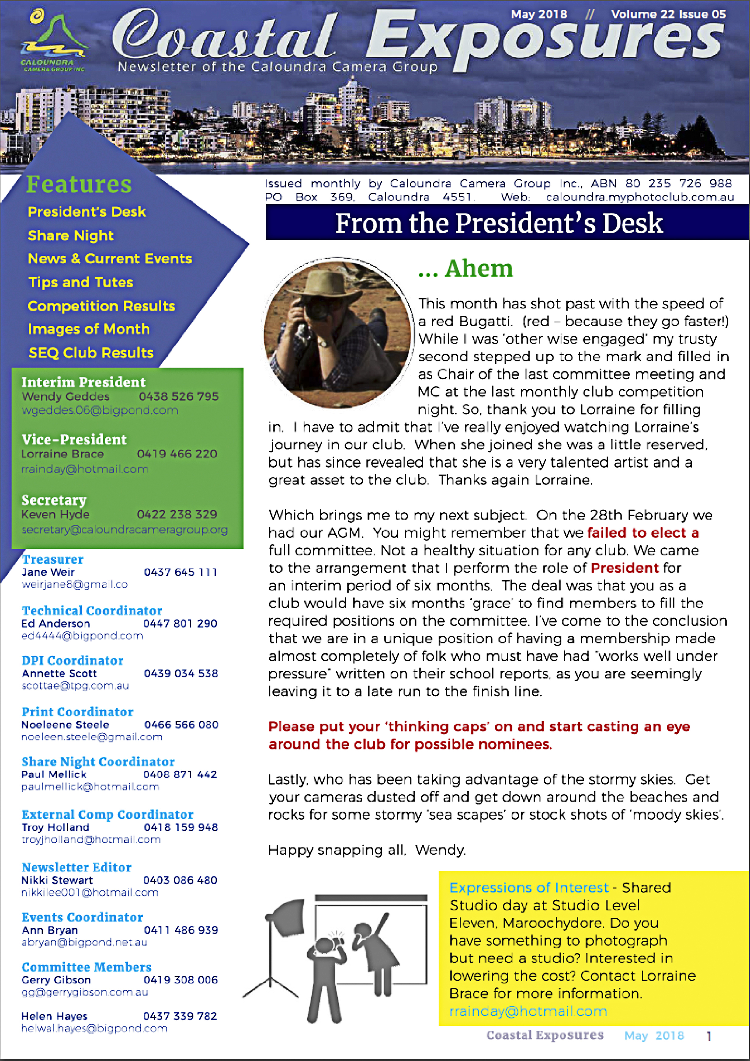 May_2018 Newsletter Cover Image